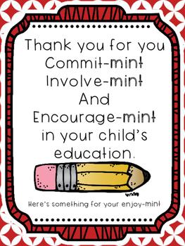 Parent Teacher Conference Posters
