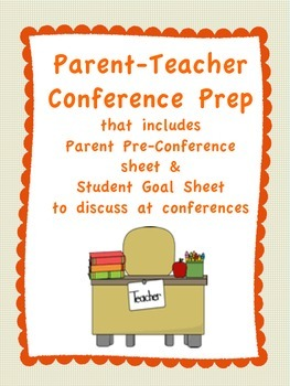 Parent-Teacher Conference Prep