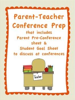 Parent-Teacher Conference Prep