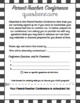 Parent-Teacher Conference Prep - Preconference Parent Questionnaire