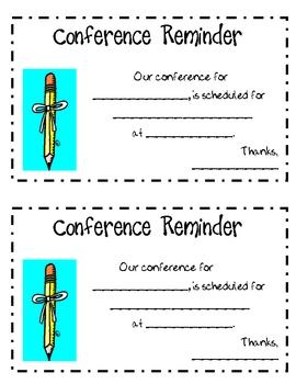 Parent Teacher Conference R... by Jamie Jacobs   Teachers Pay Teachers