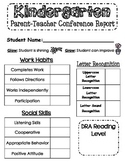 Parent-Teacher Conference Report