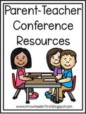 Parent Teacher Conference Resources