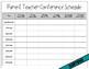 Parent Teacher Conference Scheduling Tools