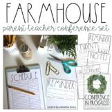 Parent Teacher Conference Set - Simple Farmhouse Theme