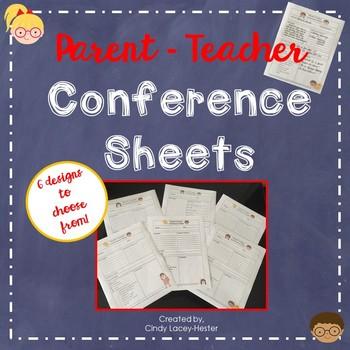 Parent-Teacher Conference Sheet