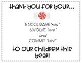 """Parent/Teacher Conference """"mint"""" Sign FREEBIE"""