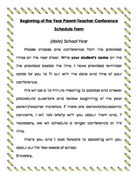 Parent Conference Letter Templates from ecdn.teacherspayteachers.com