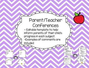 Back to School Night/ Conference Organizer