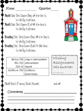 Parent Teacher Conference {Student Summary page} Editable