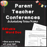 Parent Teacher Conference Forms! Scheduling Made Easy
