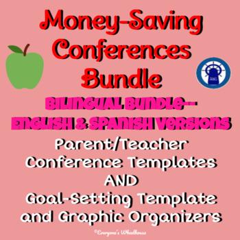 Parent/Teacher Conferences Bilingual Bundle