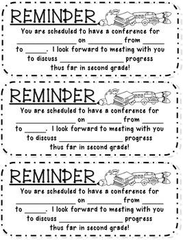 Parent Teacher Conferences Bundle