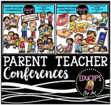 Parent Teacher Conferences Clip Art Bundle