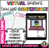 Parent Teacher Conferences Editable Forms Sign Up Schedule Reminders Sign In