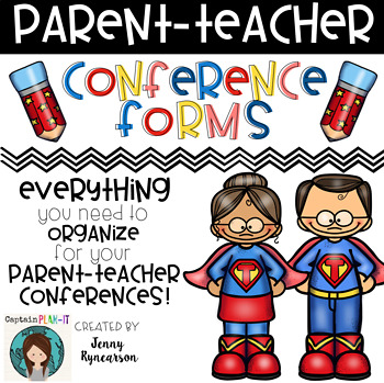 Parent Teacher Conferences! Everything you need to get organized!