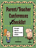Parent Teacher Conferences Forms
