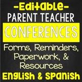 Parent Teacher Conferences EDITABLE