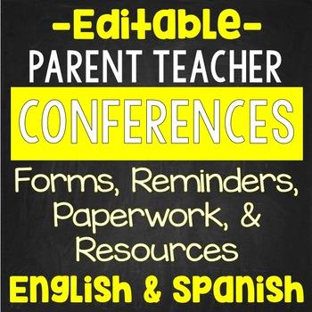 Classroom management teaching resources lesson plans teachers parent teacher conferences editable parent teacher conferences editable fandeluxe Image collections