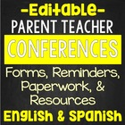 Parent Teacher Conferences EDITABLE