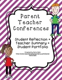 Parent Teacher Conferences Packet