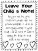 Parent Teacher Conferences - Print & Go!