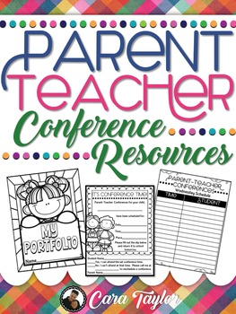 Parent Teacher Conferences ~ Editable Resources