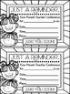 Parent Teacher Conferences ~ Editable Resources
