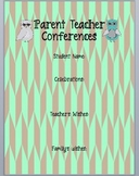 Parent Teacher Conferences Sheet