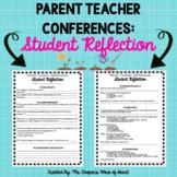 Parent Teacher Conferences Student Reflection