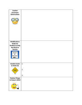 Parent-Teacher Conferences Template