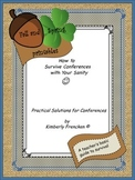 Parent-Teacher Conferences Tips and Printables