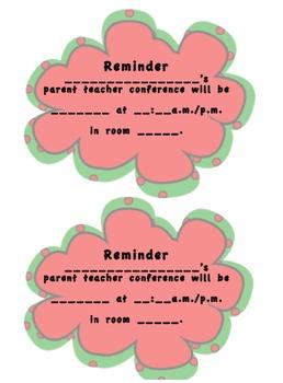 Parent Teacher Conferences made easy