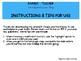 Parent-Teacher Contact Log (Editable PPT)