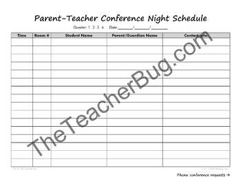 Parent-Teacher File Bundle