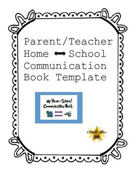 Parent-Teacher Home to School Communication Book