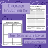 Parent Teacher Interview Organizer
