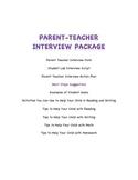 Parent Teacher Interview Package