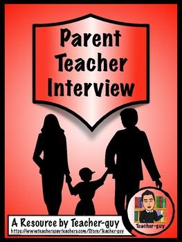 Parent Teacher Interview Preparation Package