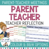 Parent Teacher Interview Forms