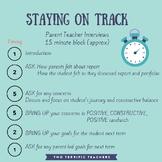 Parent Teacher Interviews Tracking Timeline