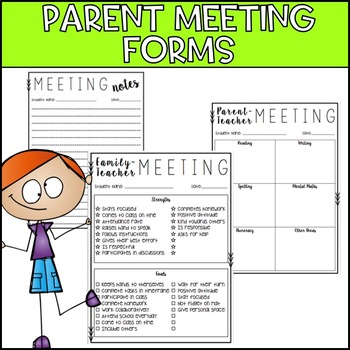 Parent - Teacher Meeting Forms