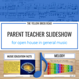 Parent-Teacher Slideshow for Open House in Music