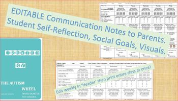 Parent-Teacher-Student-Autism-Special Education-Daily Class Communication