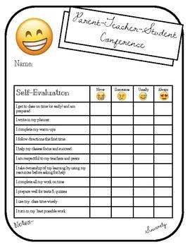 Parent Teacher Student Conference