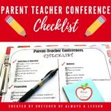 Parent-Teachers Conference Checklist