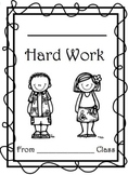 Parent Teaching Conference Student Work Cover