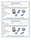 Parent Technology Notice PDF