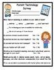 Parent Technology Survey update