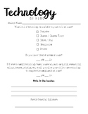 Parent Technology Survey
